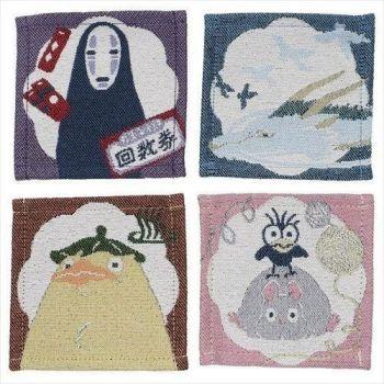 Le Voyage de Chihiro pack 4 sous-verres Characters