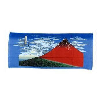 Ukiyo-e serviette de toilette Katsushika Hokusai Kaifu 34 x 80 cm