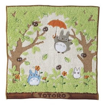 Mon voisin Totoro serviette de toilette mains Shade of the Tree 25 x 25 cm