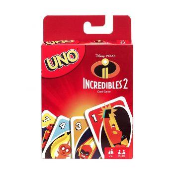 Les Indestructibles 2 jeu de cartes UNO *ANGLAIS* --- EMBALLAGE ENDOMMAGE