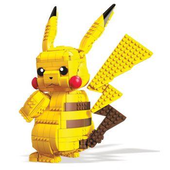 Pokémon jeu de construction Mega Construx Jumbo Pikachu 32 cm --- EMBALLAGE ENDOMMAGE