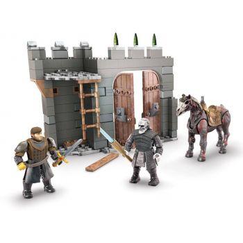 Le Trône de fer jeu de construction Mega Construx Black Series Winterfell Defense