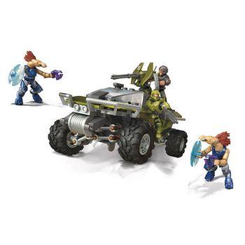 Halo Infinite jeu de construction Mega Construx Pro Builders Warthog Rally