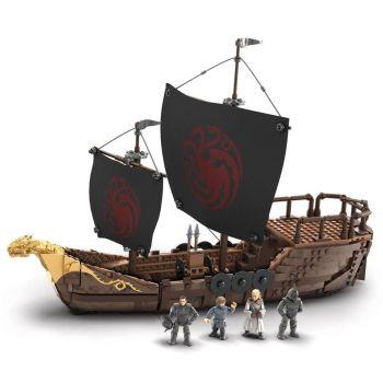 Le Trône de fer jeu de construction Mega Construx Black Series Targaryen Warship