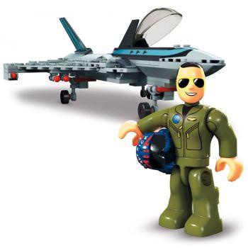 Top Gun: Maverick jeu de construction Mega Construx Wonder Builders Boeing F/A-18E Super Hornet