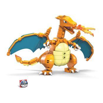 Pokémon jeu de construction Mega Construx Wonder Builders Dracaufeu 10 cm