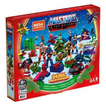 Masters of the Universe calendrier de l´avent Mega Construx Probuilders 2021
