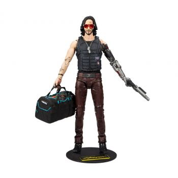 Cyberpunk 2077 figurine Johnny Silverhand Variant 18 cm --- EMBALLAGE ENDOMMAGE