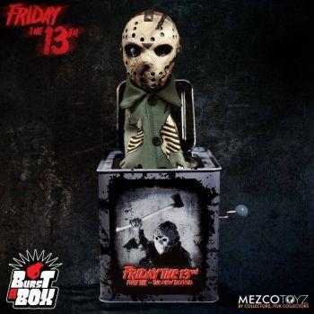 Vendredi 13 boite à musique Diable en boîte Burst-A-Box Jason Voorhees 36 cm