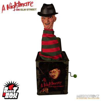 Nightmare On Elm Street boite à musique Diable en boîte Burst-A-Box Freddy Krueger 36 cm