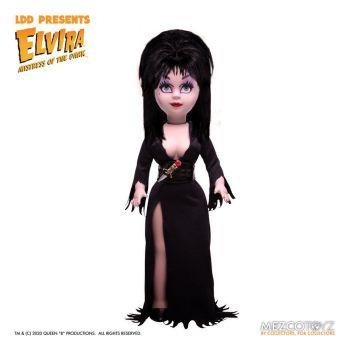 Elvira maîtresse des ténèbres Living Dead Dolls poupée Elvira 25 cm