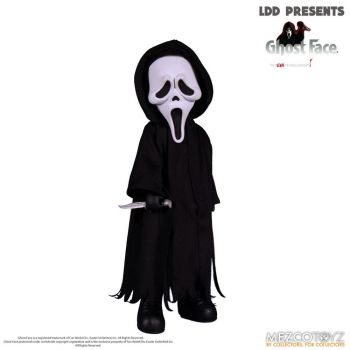 Scream Living Dead Dolls poupée Ghost Face 25 cm