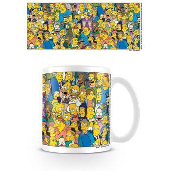 Simpsons mug Characters