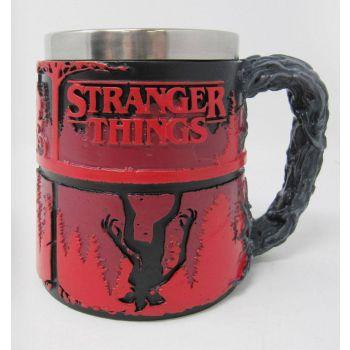 Stranger Things mug Upside Down