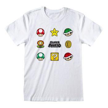 Nintendo T-Shirt Super Mario - Items