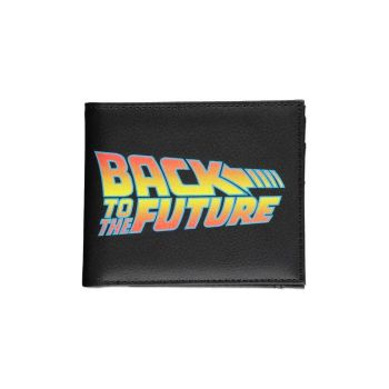 Retour vers le futur porte-monnaie Bifold Titre