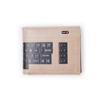 Commodore 64 porte-monnaie Bifold C64 Keyboard