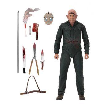 Vendredi 13 chapitre 5 figurine Ultimate Roy Burns 18 cm --- EMBALLAGE ENDOMMAGE