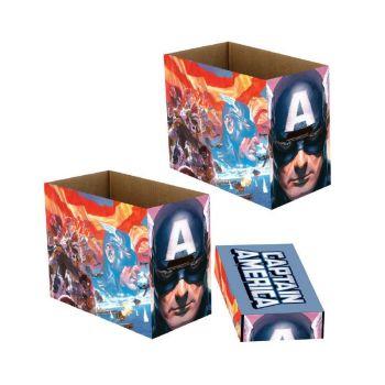 Marvel boîtes de rangement Captain America Patriot 23 x 29 x 39 cm (5)