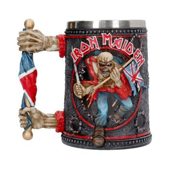 Iron Maiden chope Trooper --- EMBALLAGE ENDOMMAGE