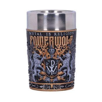 Powerwolf verre à liqueur Logo