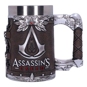 Assassin's Creed chope Logo Leather Finish Edition