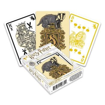 Harry Potter jeu de cartes à jouer Poufsouffle