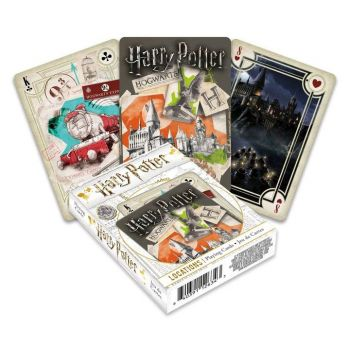 Harry Potter jeu de cartes à jouer Locations