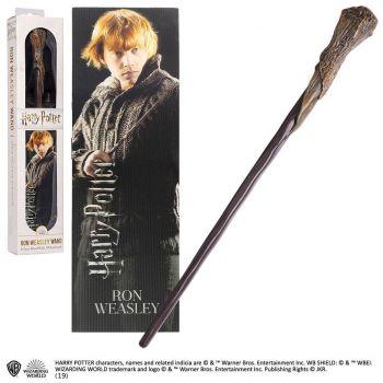 Harry Potter réplique baguette PVC Ron Weasley 30 cm --- EMBALLAGE ENDOMMAGE