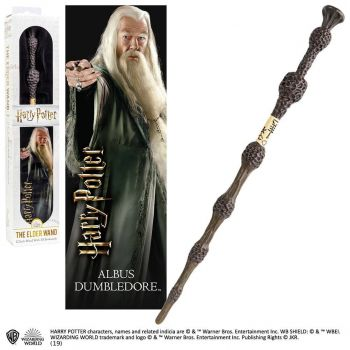Harry Potter réplique baguette PVC Albus Dumbledore 30 cm