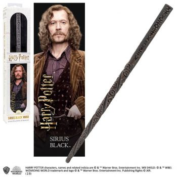 Harry Potter réplique baguette PVC Sirius Black 30 cm