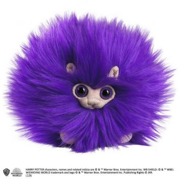 Harry Potter peluche Pygmy Puff Purple 15 cm
