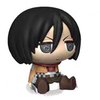 Attack on Titan tirelire Chibi PVC Mikasa 16 cm