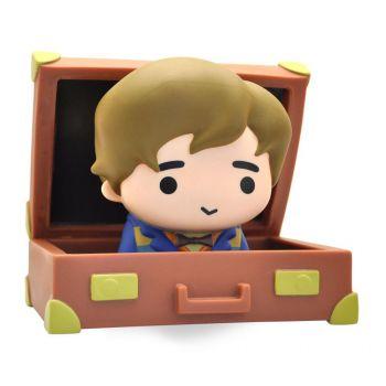 Les Animaux fantastiques tirelire Chibi PVC Newt Suitcase 16 cm