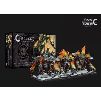 Conquête: Le Dernier Argument des Rois pack 3 miniatures Dweghom : Inferno Automata