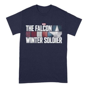 The Falcon and the Winter Soldier T-Shirt Action HR Logo