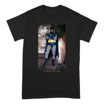 Batman T-Shirt Contemplative Pose