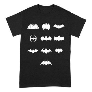 Batman T-Shirt Logo Evolution