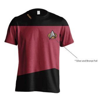 Star Trek T-Shirt Uniform Red