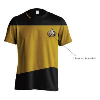 Star Trek T-Shirt Uniform Yellow