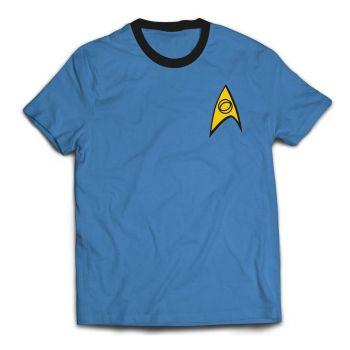 Star Trek T-Shirt Ringer Medical Uniform