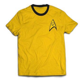 Star Trek T-Shirt Ringer Command Uniform