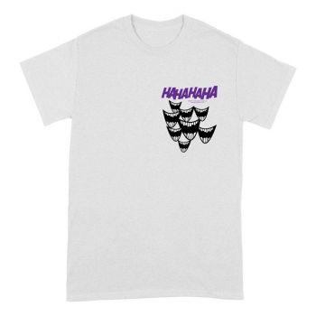 DC Comics T-Shirt Joker Smile Breast Print