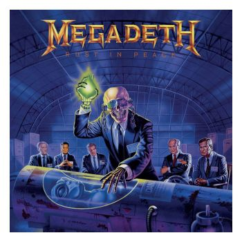 Megadeth Rock Saws puzzle Rust in Peace (500 pièces)