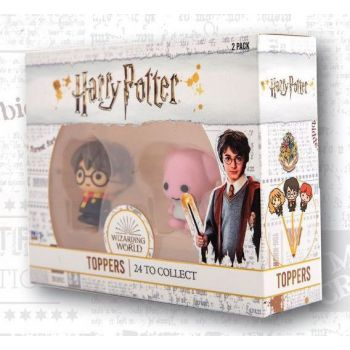 Harry Potter pack 2 embouts de crayon Wizarding World 4 cm