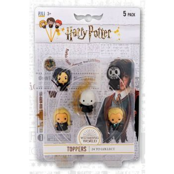 Harry Potter pack 5 embouts de crayon Wizarding World 4 cm