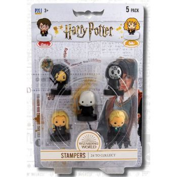 Harry Potter pack 5 tampons Wizarding World 4 cm