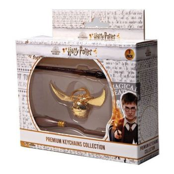 Harry Potter pack 3 porte-clés Premium