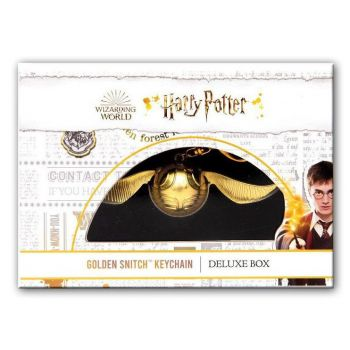 Harry Potter porte-clé Vif d'or Deluxe Box 12 cm