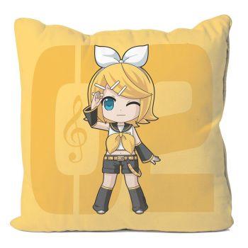 Vocaloid taie d´oreiller Kagamine Rin 50 x 50 cm
